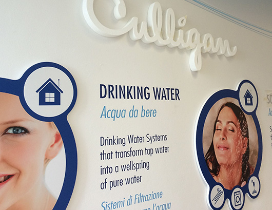 Culligan Italiana, interior design